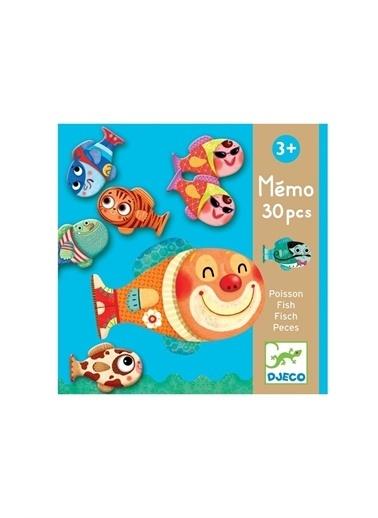Djeco Djeco Hafıza Oyunları / Memo Fish Pembe